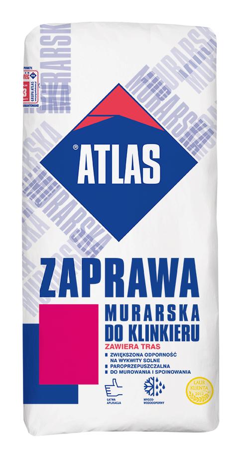 ATLAS zaprawa murarska do klinkieru
