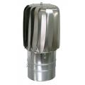 Nasada obrotowa Turboflex SLIM Ø 150mm na rurze SPIROFLEX aluminium