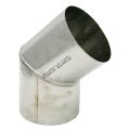 Kolano stałe 45° kwasoodporne SPIROFLEX Ø 150mm
