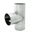 Trójnik 90° żaroodporny SPIROFLEX Ø 180mm gr.1,0mm