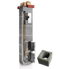System Kominowy Ceramiczny PLEWA Uni Las 120x120mm