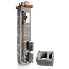 System Kominowy Ceramiczny PLEWA Uni Las 120x120mm z wentylacją