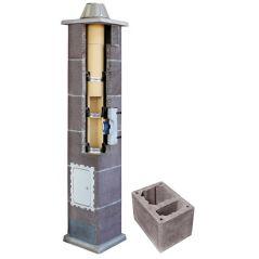 System Kominowy Ceramiczny LEIER Turbo Ø 140mm z wentylacją