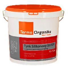 TERMO ORGANIKA tynk silikonowy SILVER TO-TSSm do aplikacji mechanicznej, 29 kg