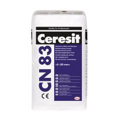 CERESIT CN 83 posadzka cementowa szybko twardniejąca 5-30 mm, 25 kg