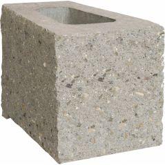 CJBLOK Pustak betonowy oporowy PBO-25 N 1/2 GARDEN łupany łukowo