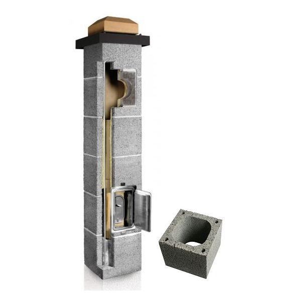 System Kominowy Ceramiczny PLEWA Uni Fe 180x180mm