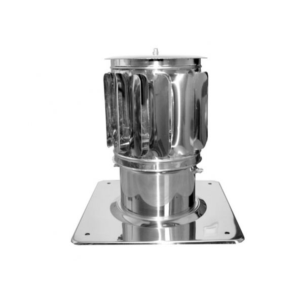 Nasada Turbomax 2 Ø 130mm z podstawą kwadratową