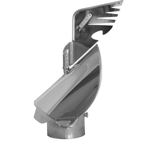 Nasada Rotomax 2 Ø 150mm z podstawą rurową wersja INSIDE®