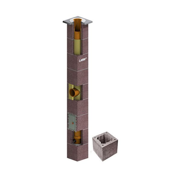 System Kominowy Ceramiczny LEIER SMART izolowany Ø 200mm