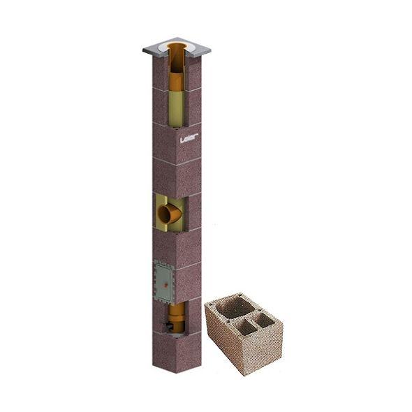 System Kominowy Ceramiczny LEIER SMART izolowany Ø 180mm z wentylacją 2-kanałową