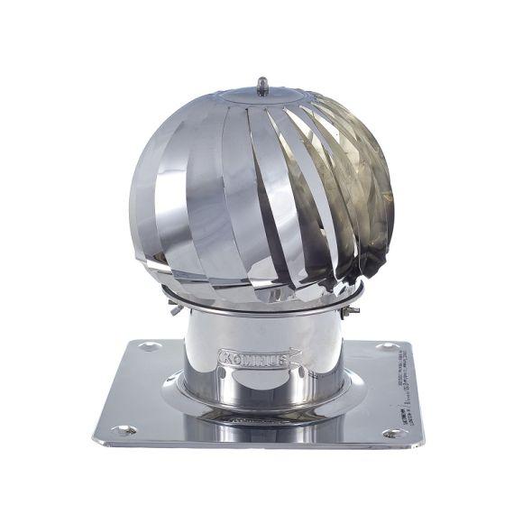 Nasada Turbomax 1 Ø 130mm z podstawą kwadratową
