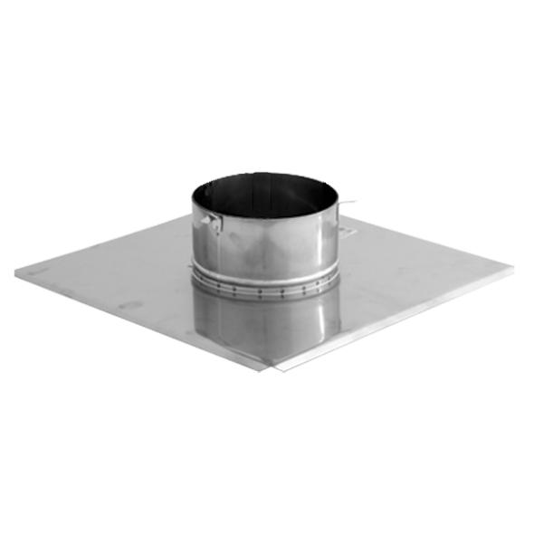 Płyta dachowa wywiewki 2 kwasoodporna SPIROFLEX Ø  80mm