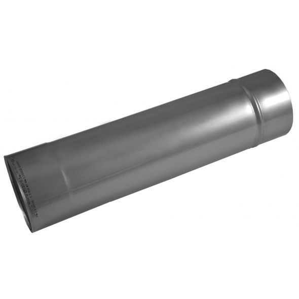Rura prosta KOMINUS KZS Ø 250mm 0,5mb gr.0,8mm