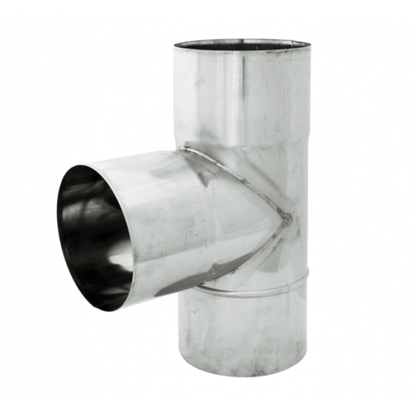 Trójnik 90° żaroodporny SPIROFLEX Ø 140mm gr.1,0mm
