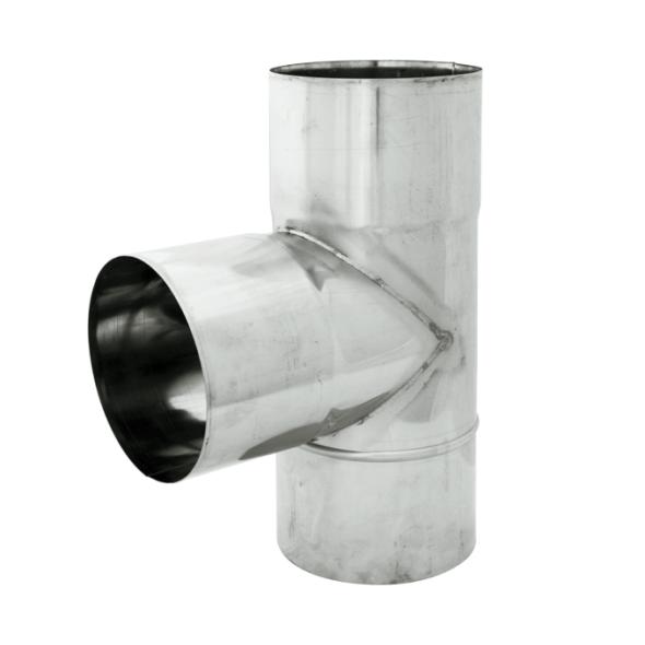 Trójnik 90° żaroodporny SPIROFLEX Ø 250mm gr.1,0mm