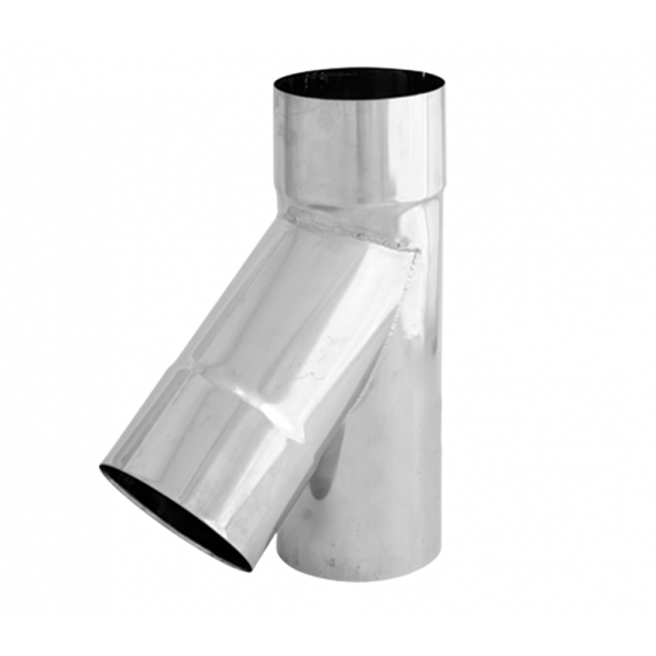 Trójnik 45° żaroodporny SPIROFLEX Ø 130mm gr.1,0mm