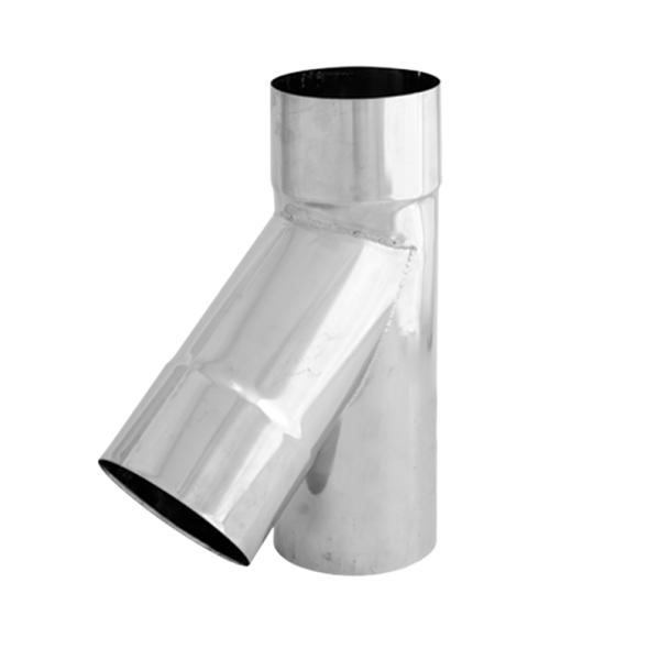 Trójnik 45° żaroodporny SPIROFLEX Ø 160mm gr.1,0mm