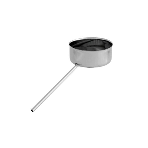 Odskraplacz żaroodporny SPIROFLEX Ø 140mm gr.1,0mm