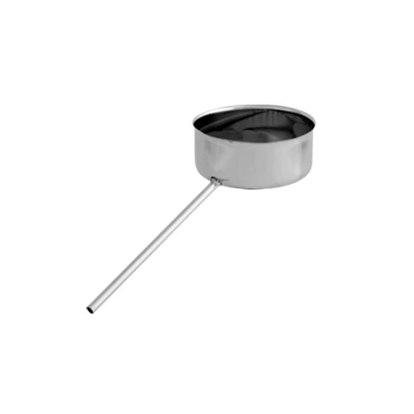 Odskraplacz żaroodporny SPIROFLEX Ø 180mm gr.1,0mm