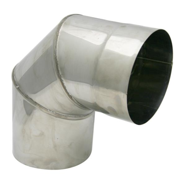 Kolano stałe 90° żaroodporne SPIROFLEX Ø 150mm gr.1,0mm
