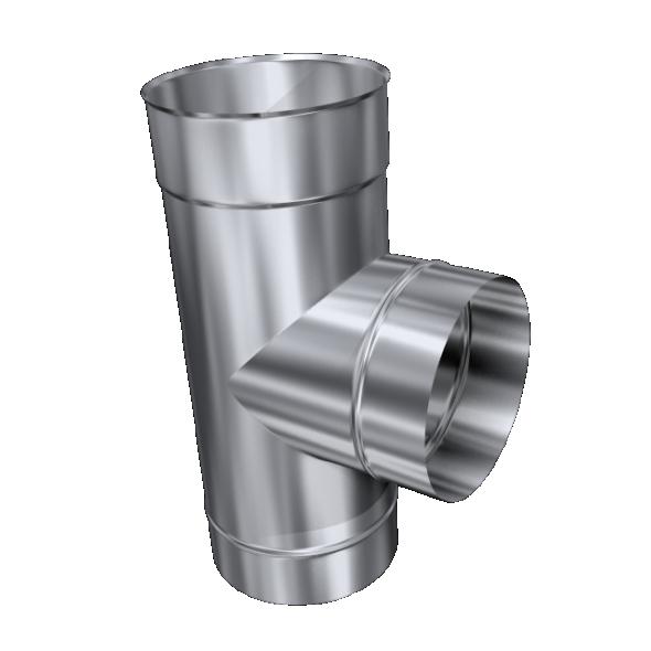 Trójnik 90° żaroodporny MKSZ Invest MK ŻARY Ø 140mm gr.0,8mm