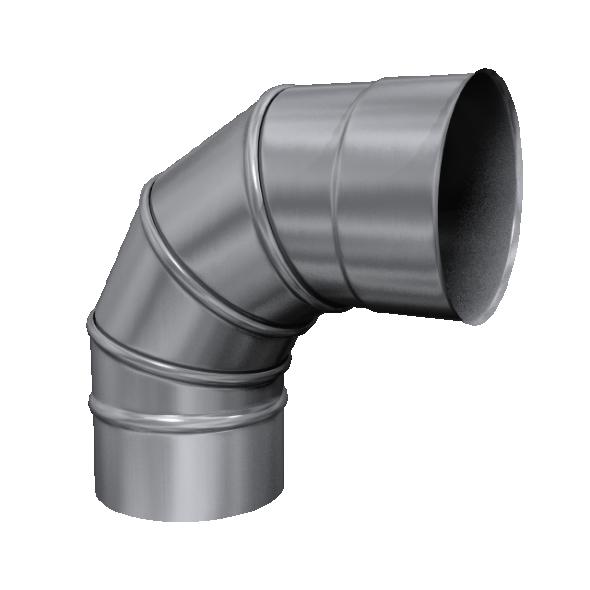 Kolano 90° skrętne żaroodporne MKSZ Invest MK ŻARY Ø 200mm gr.0,8mm