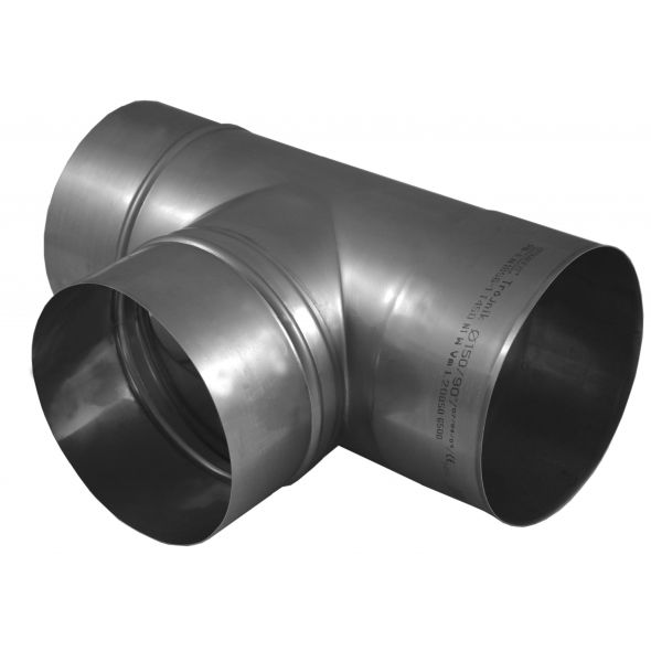 Trójnik 90° KOMINUS KZS Ø 130mm gr.0,8mm