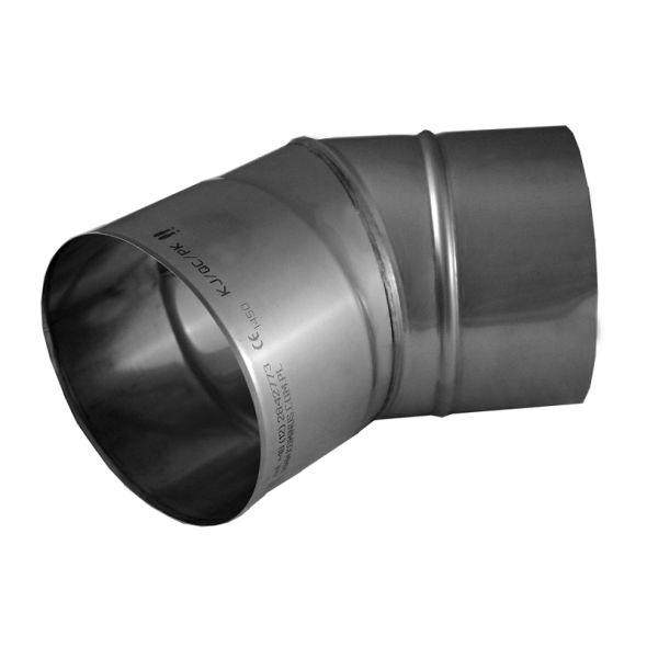 Kolano 30° KOMINUS KZS Ø 180mm gr.0,8mm