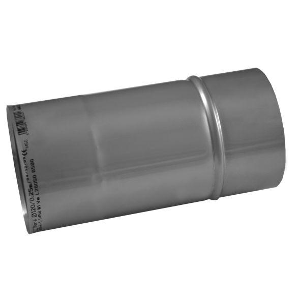 Rura prosta KOMINUS KZS Ø 130mm 0,25mb gr.0,8mm